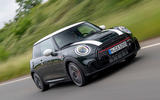 99 Mini JCW anniversary official images tracking front