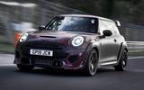 Mini John Cooper Works GP 2020 prototype official images - hero