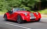 Morgan Plus 8 road test rewind - hero front