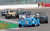 99 Morgan racing club racing lead