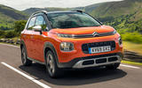 99 nearly new guide citroen C3 aircross tracking front