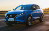 99 Nissan Qashqai 2021 official reveal hero front