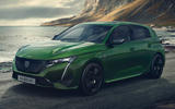 99 Peugeot 308 2021 official reveal images hero front