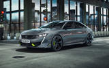 Peugeot 508 PSE official images - tracking front