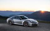2019 Porsche 911 official reveal - press still front