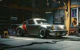 Porsche 911 Cyberpunk 2077 tie-in - hero front