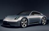 99 Porsche 911 EV render imagined by Autocar