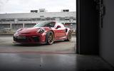 Porsche 911 GT3 RS 2018 review static hero