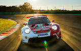 99 Porsche 911 RSR 19 drive hero nose
