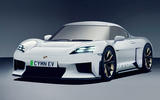 99 Porsche Cayman EV render imagined by Autocar