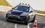 99 Porsche Macan EV official test images hero