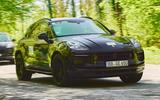 99 Porsche Macan GTS 2021 prototype drive hero front