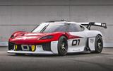 99 Porsche Mission R concept feature lead