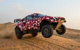 Prodrive BRX T1 in the desert - hero front