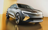 Renault Megane eVision concept official images - studio front