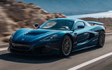 99 Rimac Nevera 2021 official reveal tracking front