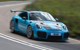 Road test rewind Porsche 911 GT2 RS - hero front