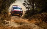 99 Safari Rally shakedown 1