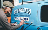 Signwriting feature - front