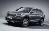 99 Skoda Kodiaq MY2021 facelift official images hero front