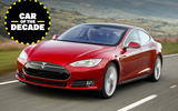 Tesla Model S - car of the decade - front