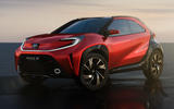 99 Toyota Aygo X Prologue 2021 concept official images hero front