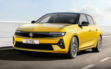 99 Vauxhall Astra 2022 official images lead