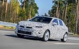 Vauxhall Corsa 2019 prototype drive - hero front