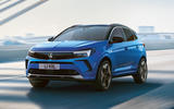 99 Vauxhall Grandland 2021 facelift official images hero front