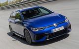 99 Volkswagen Golf R Estate 2021 official reveal hero front