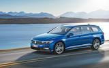 Volkswagen Passat 2019 press - front