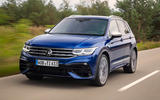 99 Volkswagen Tiguan R 2021 official images tracking front