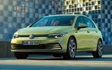2020 Volkswagen Golf Mk8 official press - hero front