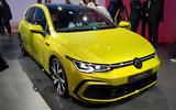 2020 Volkswagen Golf mk8 official reveal - front