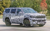 Jeep Grand Wagoneer spy images - front