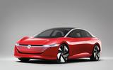 Volkswagen ID Vizzion concept - front