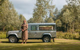 Defender hearse conversion - static