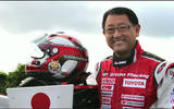 9 AKIO TOYODA Race NoHelmet ToyotaMotorCorporation
