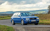 Audi RS 2 - tracking front