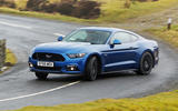Ford Mustang - tracking side