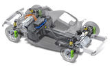 9 rimac nevera front body with chassis and pwt