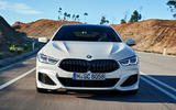BMW 8 Series Gran Coupe 2019 first drive review - nose