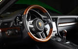 Porsche one millionth 911 steering wheel
