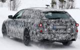 BMW 5 Series Touring spy shots
