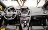 Ford Focus ST-3 dashboard