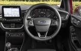 Ford Fiesta steering wheel