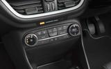 Ford Fiesta climate controls