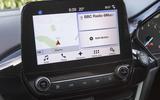 Ford Fiesta infotainment system