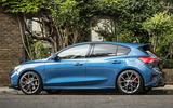 Ford Focus ST 2019 UK first drive review - left side