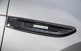 Jaguar side vent badge